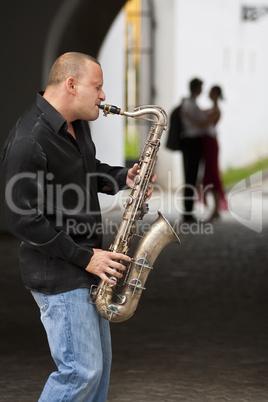 Romantic Jazz Couple