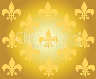 goldener hintergrund mit ornamenten