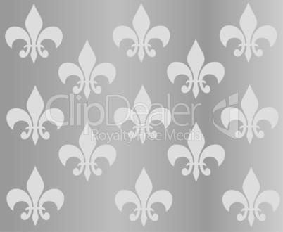 silberner hintergrund mit ornamenten