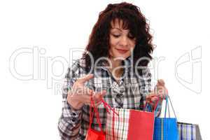 girl with buying