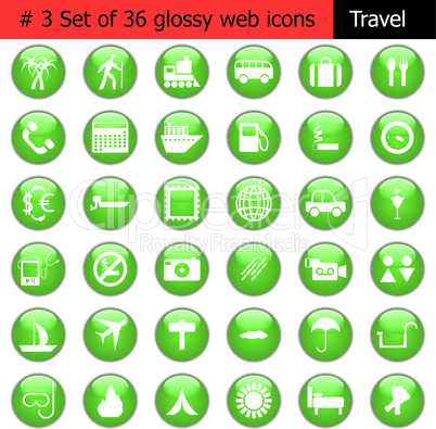 icon set #3 travel