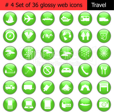 icon set #4 travel