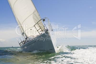 Sail Boat Up Close