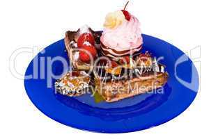 fancy cake(clipping path included)