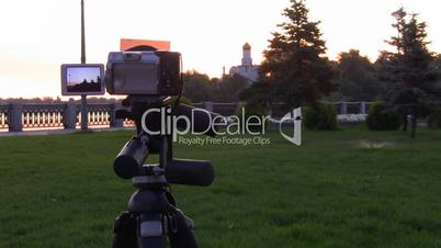 Time Lapse. Digital camera shooting for scenery.