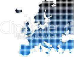 Karte von Europa