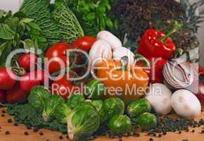 frische Gemüse