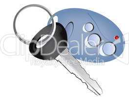 remote control car key