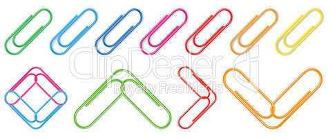 Vector paper clip