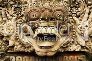 Thai Stone Mask 1925