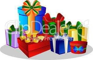 Geschenke - Pakete und Schachteln