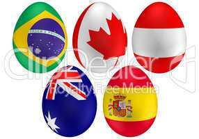 easter egg flags 3