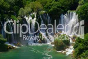 Kravica Wasserfälle - Kravica waterfall 13