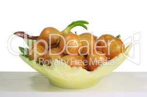 Zwiebel in Schale - onion in bowl 05