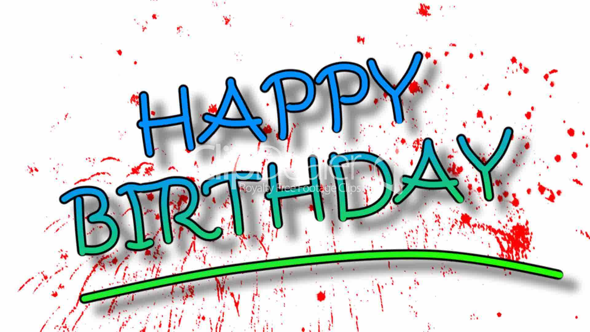 Happy Birthday: Royalty-free video and stock footage