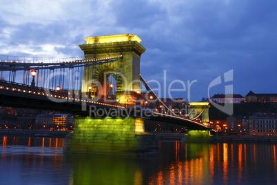 Kettenbrücke, Budapest