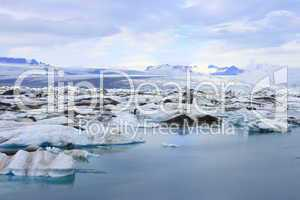 Der Gletschersee Jökulsárlón