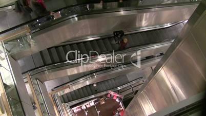 Department Store Escalators