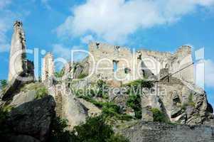 ruine in dürnstein