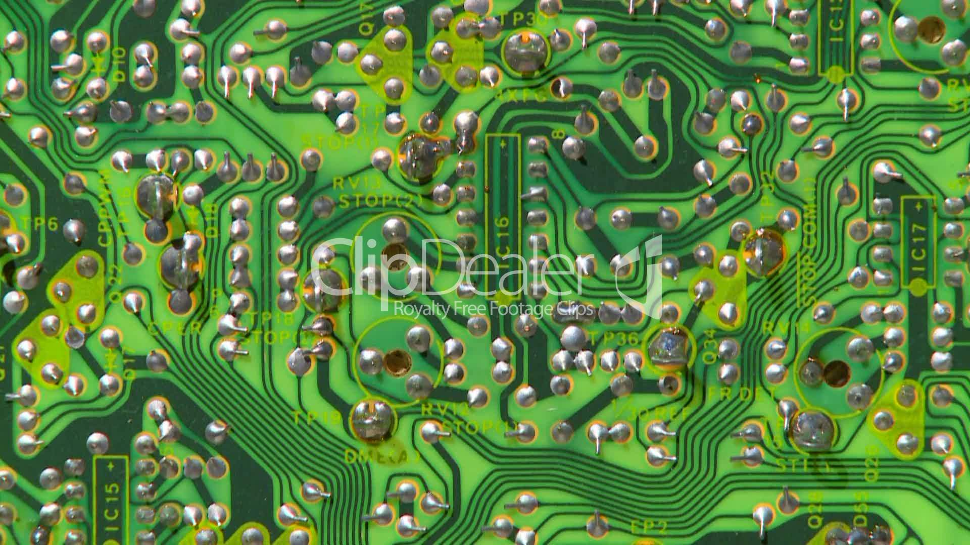 Electronic Circuit Board 10 Royalty Free Video And Stock Footage Electric Circuitry Circuits Communication Components Computer Connections Digital Diode