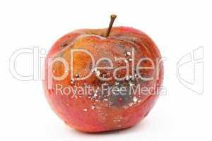 Vergammelter Apfel