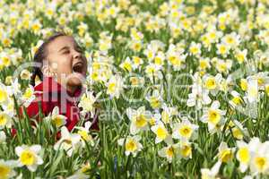 Springtime Fun/ girl