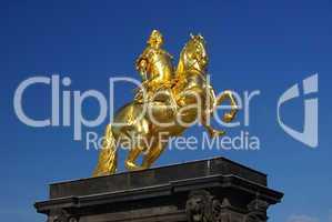 Dresden Goldener Reiter - Dresden Golden Knight 01
