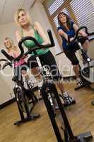 Spinning Class/Woman