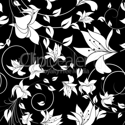 seamless floral background