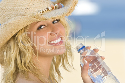 Cool Water with Woman