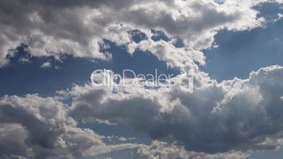 Timelapse of clouds 03