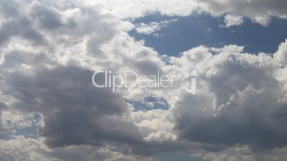 Timelapse of clouds 04