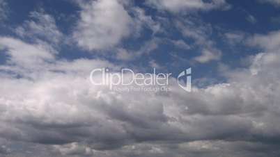 Timelapse of clouds 07
