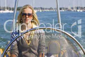 Speedboat Beauty/Woman