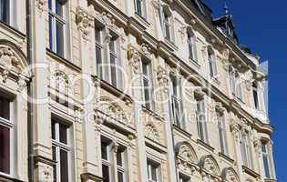 stucco facade in germany