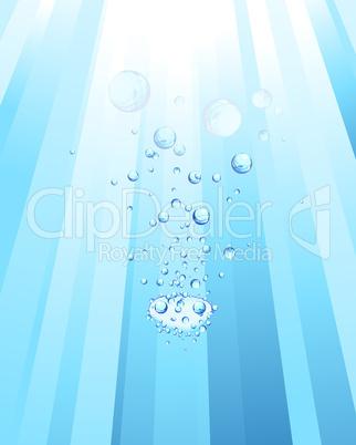 Underwater rays