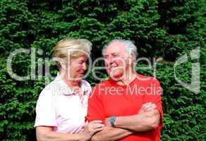 senioner paar
