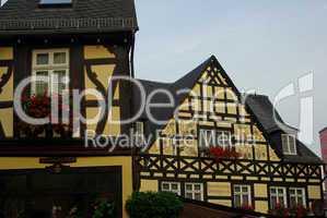 Rüdesheim Fachwerkhaus - Ruedesheim half-timber house 02