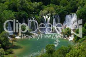 Kravica Wasserfälle - Kravica waterfall 04