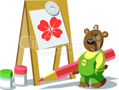 Bear-painter color 12