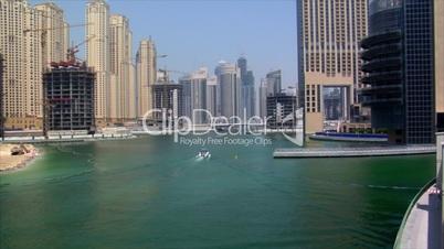 boat arrive dubai marina speed ramp