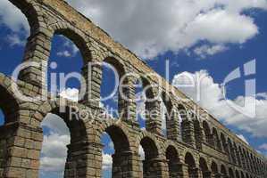 Segovia Aquädukt - Segovia Aqueduct 01