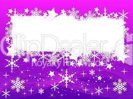 Pink Weihnachtshintergrund - Ihr Text hier