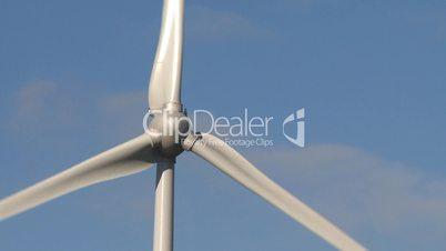 Wind power turbine detail