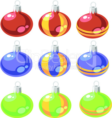Balls set color 02