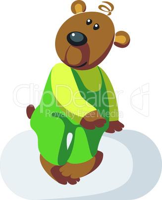 Bear color 03