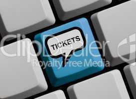 Tickets online kaufen