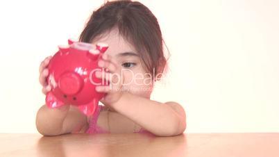 Child with savings