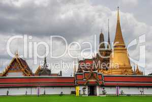 Temple in Bangkok, August 2007