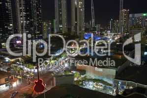 Surfers Paradise by Night, Australia, August 2009